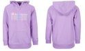 Champion Big Girls Ombré Stacked Logo Script French Terry Hoodie