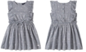 Calvin Klein Toddler Girls Ruffled Heart Dress