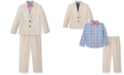 Nautica Toddler Boys 4-Pc. Fine Twill Suit Set