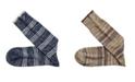 Johnston & Murphy Heather Stripe Socks