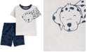 Carter's Baby Boys 2-Pc. Dalmatian Cotton T-Shirt & Shorts Set