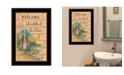 Trendy Decor 4U Trendy Decor 4U Life is Better at the Cabin by Mary June, Ready to hang Framed Print Collection