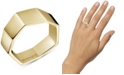 Calvin Klein Angled Ring in Gold-Tone