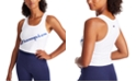 Champion Women's Authentic Double Dry Cropped Tank Top