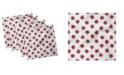 """Ambesonne Ladybugs Set of 4 Napkins, 12"""" x 12"""""""