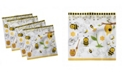 """Ambesonne Collage Set of 4 Napkins, 12"""" x 12"""""""
