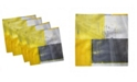 """Ambesonne Old Wall Set of 4 Napkins, 12"""" x 12"""""""