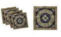 "Ambesonne Greek Key Set of 4 Napkins, 12"" x 12"""