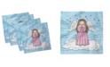 "Ambesonne Angel Wings Set of 4 Napkins, 12"" x 12"""