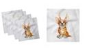 "Ambesonne Puppy Set of 4 Napkins, 18"" x 18"""