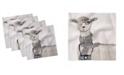 "Ambesonne Animal Set of 4 Napkins, 18"" x 18"""