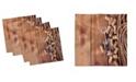 "Ambesonne Winery Set of 4 Napkins, 18"" x 18"""