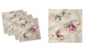 """Ambesonne Butterfly Set of 4 Napkins, 18"""" x 18"""""""
