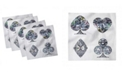 "Ambesonne Diamond Set of 4 Napkins, 18"" x 18"""