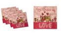 "Ambesonne Valentines Day Set of 4 Napkins, 18"" x 18"""