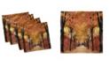 "Ambesonne Autumn Set of 4 Napkins, 18"" x 18"""