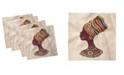 "Ambesonne Tribal Set of 4 Napkins, 18"" x 18"""