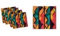 "Ambesonne Modern Set of 4 Napkins, 18"" x 18"""