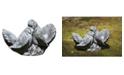 Campania International Dove Small Pair Garden Statue