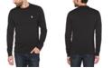 Original Penguin Men's Sticker Pete Fleece Long Sleeve Sweatshirt