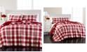 Martha Stewart Collection Buffalo Plaid Yarn Dye Twin/Twin XL Quilt, Created for Macy's