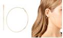 """Jessica Simpson Large Wire Hoop Earrings, 3"""""""
