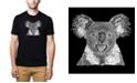 LA Pop Art Men's Premium Word Art T-shirt - Koala