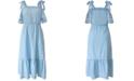 BCBGeneration Cotton Chambray Dress