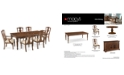 Furniture Orle Dining Furniture, 7 pc Set  (Dining Table & 4 Side Chairs & 2 Arm Chairs), Created for Macy's
