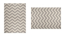 """Global Rug Designs Haven Hav05 Gray and Ivory 5'3"""" x 7'2"""" Area Rug"""