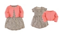 Touched by Nature Baby Girl Dress and Cardigan Set