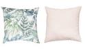 "Small World Home Botanical Print 20"" x 20"" Outdoor Decorative Pillow"