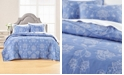 Martha Stewart Collection Batik Embroidery Twin/Twin XL Quilt, Created for Macy's