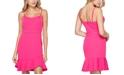 Teeze Me Juniors' Sweetheart Ruffled Bodycon Dress