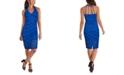 GUESS Lace Halter-Neck Midi Dress