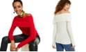 Charter Club Cashmere Off-The-Shoulder Sweater, Created for Macy's