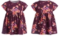 First Impressions Baby Girls Short Sleeve Floral Bloom Tunic, Created for Macy's