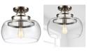 "Home Accessories Kostandea 13.5"" 1-Light Indoor Flush Mount Ceiling Lights with Light Kit"