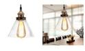"Home Accessories Zhuri 10"" 1-Light Indoor Chandelier with Light Kit"