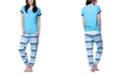 Muk Luks Henley & Jogger Pajama Set