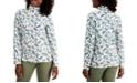 Karen Scott Holly Berry-Print Turtleneck Top, Created for Macy's