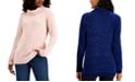 Karen Scott Chenille Cowlneck Sweater, Created for Macy's