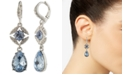 Givenchy Stone & Crystal Drop Earrings