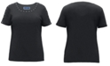Karen Scott Cotton Studded T-Shirt, Created for Macy's