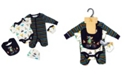 Lily & Jack Baby Boys Animals In Cars 5 Piece Velour Layette Gift Set
