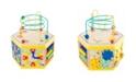 "Legler USA Small Foot Wooden Toys Activity Center 7"" 1 Iconic Motor Skills Playset"