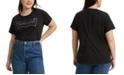 Levi's Trendy Plus Size Cotton Logo Perfect T-Shirt