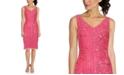 Adrianna Papell Beaded Sheath Dress