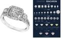 Macy's Diamond Engagement Ring in 14k White Gold (1 ct. t.w.)