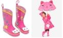 Kidorable Little Girls' Lucky Cat Rain Boots